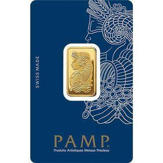 PAMP Suisse 10g Minted Gold Bar