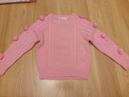 韓國製 女童衫 波波衫  合2,3歲 原價399