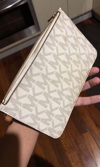 Authentic Michael Kors clutch/wallet