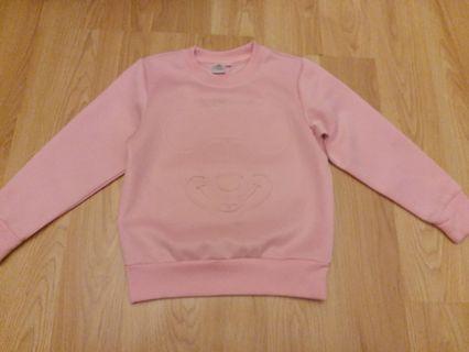 正版 disney 女童衫 110碼 4,5歲