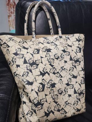 Rare collectible LACOSTE tote bag