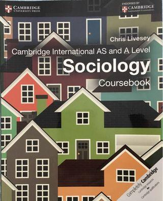 Cambridge Int'l AS and A Level Sociology Coursebook