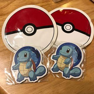 Pokemon 寵物小精靈 車厘龜 memo card 卡 兩套