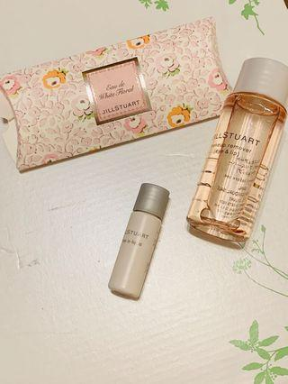 Jill Stuart sample set 粉底remover香水