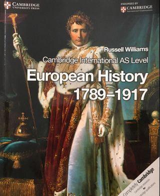 Cambridge Int'l AS Level European History