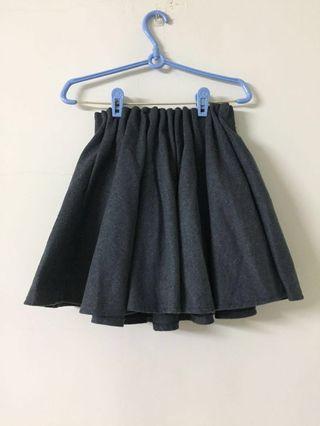 🚚 正韓毛呢短裙