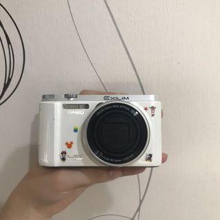 🚚 (二手)(實拍)Casio zr1500 附相機包x2電池x3充電器讀卡機WiFi記憶卡