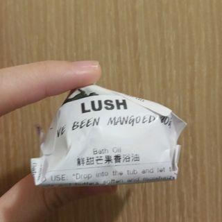 全新 lush 入浴油 鮮甜芒果香浴油 Mango Bath Oil