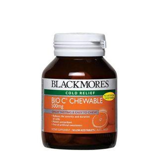 Blackmores Bio C Chewable 500mg 50s