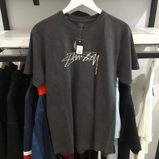 Tees Stussy Vintage Stock Dyed Black