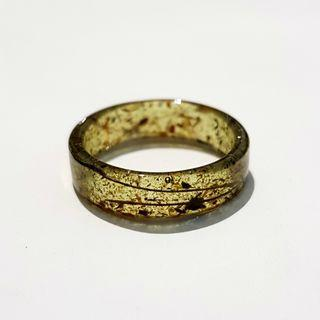 🚚 INFUSED OIL: (green version) 33 kinds of wood + buluh perindu ring | size US10