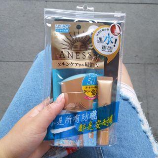 SHISEIDO 資生堂東京櫃】ANESSA安耐曬黃金防曬組