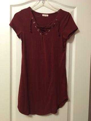 Red Dress - F21 Medium