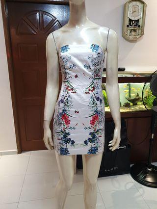 Floral Bodycon tube Dress( love bonito)