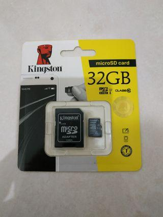 Memory Card Baru, micro SD + SD card adapter #mauTHR