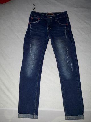 Jeans anak 7,8 tahun