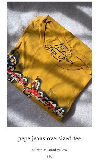 oversized tee shirt