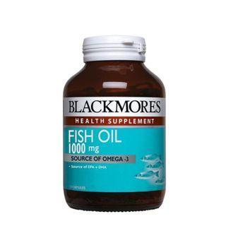 Blackmores Fish Oil 1000 120s