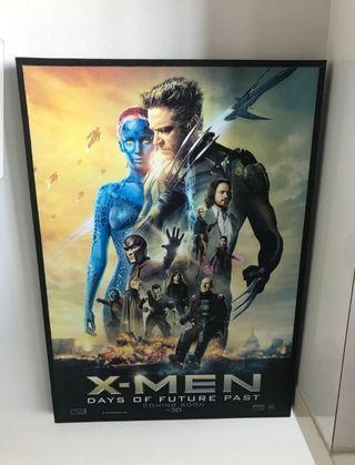 New Marvel Framed Poster X-Men Days of Future Past