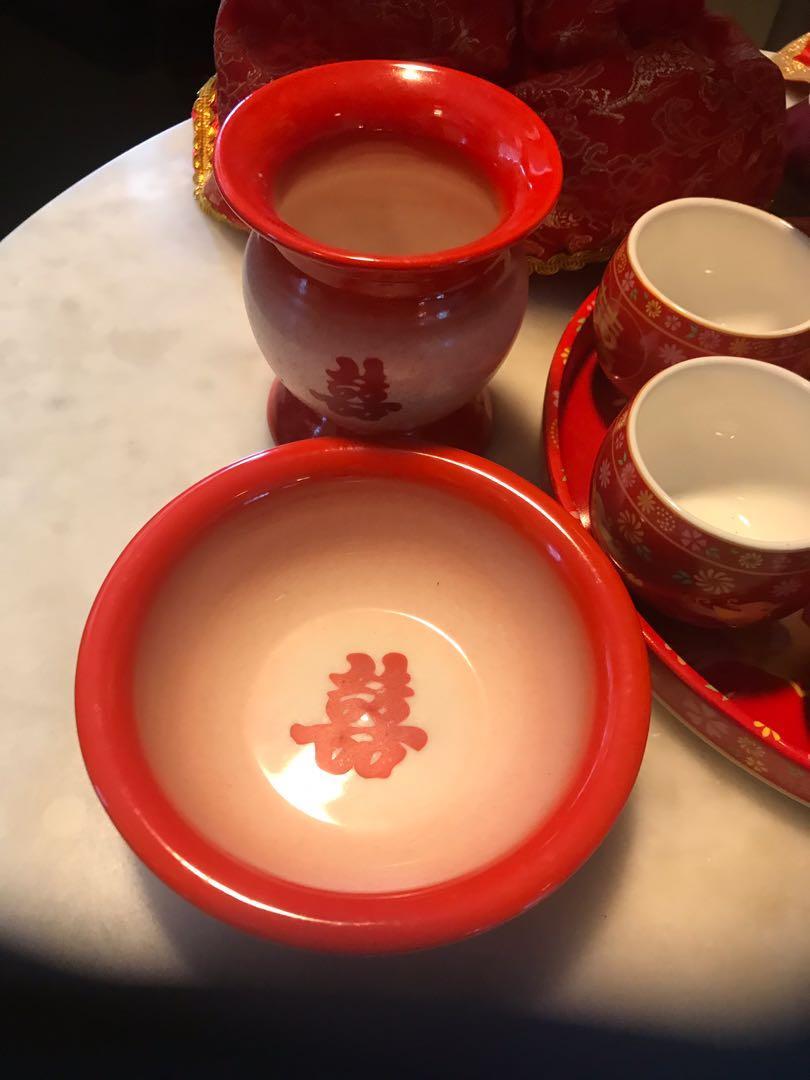 中式婚禮用品(全部$200)