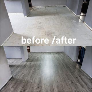 Vinyl flooring promotion