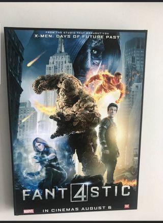 New Marvel Framed Poster FANT4STIC