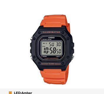 Orange Casio Digital Watch! BNIB! Instock!!