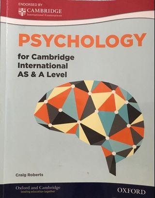 Cambridge Int'l AS and A Level Psychology
