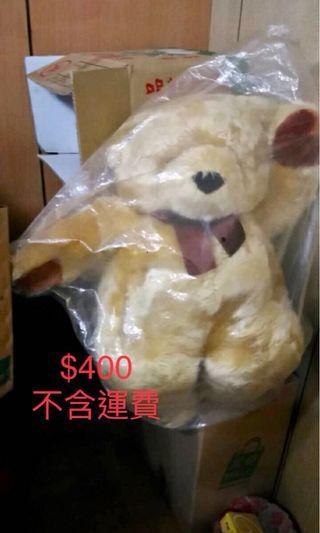 二手 大型泰迪熊 大型多啦A夢 迪士尼公仔