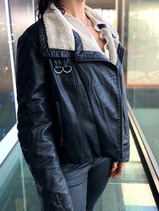 NINE DAYS Leather Jacket