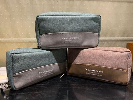 Cathay pacific travel amenity kit pouch