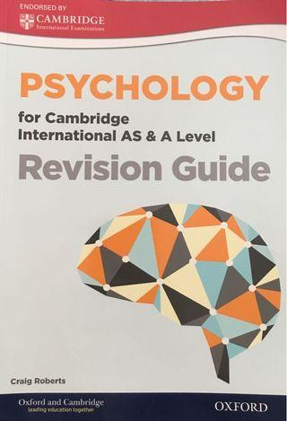 Cambridge Int'l AS and A Level Psychology Revision Guide