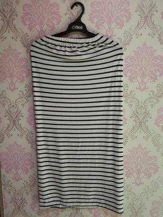 Rok Stripe black&white