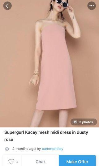 WTB Supergurl Kacey Mesh Dress