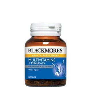 Blackmores Multivitamins + Minerals 30s