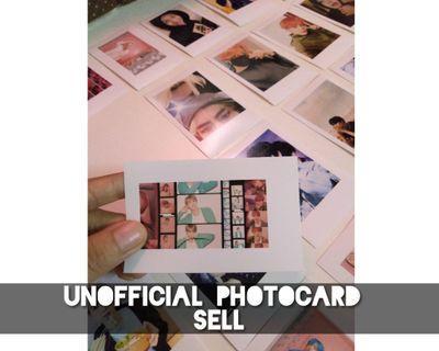 Unofficial BTS 30pcs photocard (Waterproof)