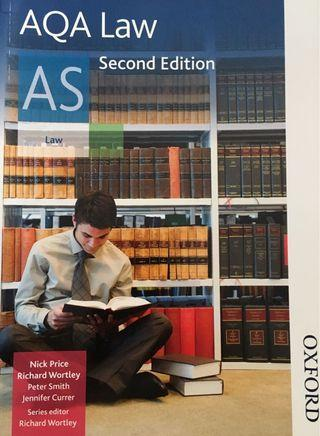 AQA Law AS (2nd Edition)
