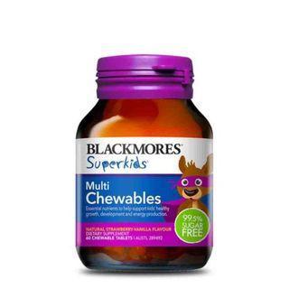 Blackmores Superkids Multi Chewables 60s