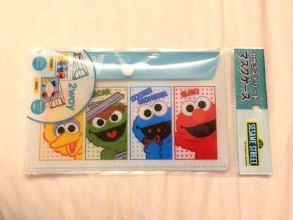 🇯🇵 日本限定 芝麻街角色可置口罩文件夾