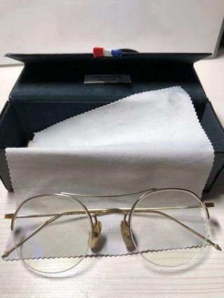 Thom 明星同款 金邊眼鏡 圓眼鏡 飛行員眼鏡 平光眼鏡 近視眼鏡 抗藍光眼鏡 輕量眼鏡