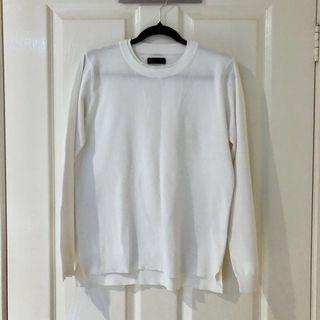 (Size S/M) Seed White Sweater #SwapAU