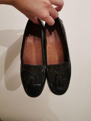 Gh bass leather loafers