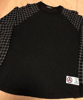AFFA Undercover Fragment Spider Grid longsleeve tee t shirt
