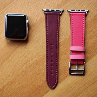 STRAP APPLE WATCH LEATHER