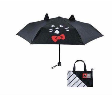 Ne-net 貓x Hello Kitty Umbrella 縮骨遮 連袋