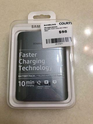 Samsung Faster Charging Technology Battery Pack 10,200 mAh