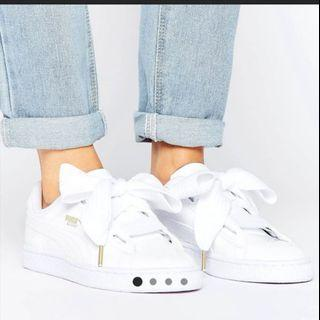 Puma basket heart trainers 0