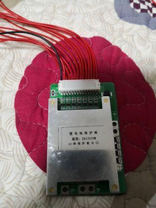 Bms 48v 13 red wires and 1 black wire