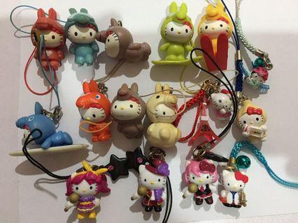 Sanrio Hello Kitty Daniel Lucky Charms Bag Mascot Accessory Lot