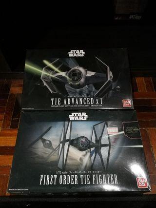 Bandai Star wars buy 1 free 1